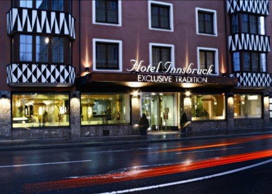 Hotel #Innsbruck Eingang/Entrance