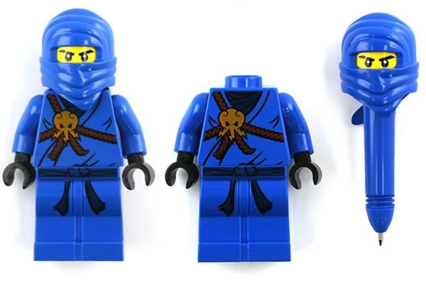 LEGO Ninjago Retractable Pens - party favor idea