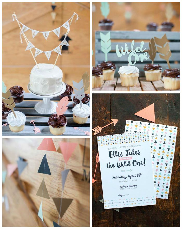 """Wild One"" Boho 1st Birthday Party via Kara's Pary Ideas | KarasPartyIdeas.com (2)"