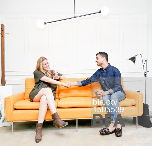 Architects Madison Welch & Justin Dipiero at ORIOR NEW YORK Debuts Contemporary Design Showroom & Studio in Williamsburg. #BFAnyc