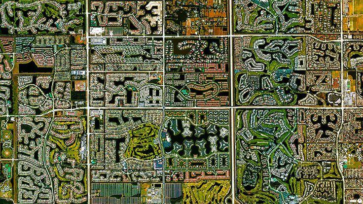 Boca Raton, Florida, Estados Unidos   45 fotos satélites increíbles que te harán ver el mundo de manera diferente. www.imaginario.es