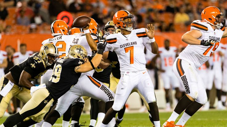 Brock Osweiler proved in 2016 that he has a ways to go before he's a starting quarterback in the NFL, while Cody Kessler played relatively well as a rookie for Cleveland. But with the way DeShone Kizer played in his preseason debut the Browns simply can't rule him out as their... - #Browns, #DeShone, #Hue, #Jackson, #Kizer, #News, #Ruled