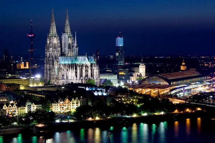 Kölner Lichter, Köln / #Cologne ©KölnTourismus GmbH, Dieter Jacobi