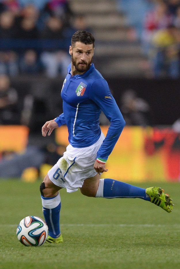 They have Antonio Candreva who is elegant and flawless. | 49 Ways The Fine Men Of Team Italy Put All Other World Cup Teams To Shame