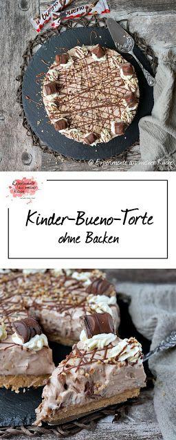 Kinder-Bueno-Kuchen ohne Backen
