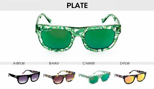 Happiness Shades - Plate Sunglasses #occhiali #occhialidasole #sunglasses #happiness #happinessshades #fashion