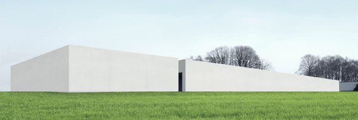architect: marc van schuylenbergh, museum L in Roeselare