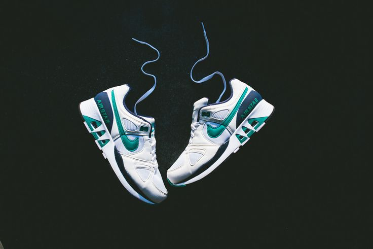 Nike Air Stab - White/Emearald Green-Mid Navy
