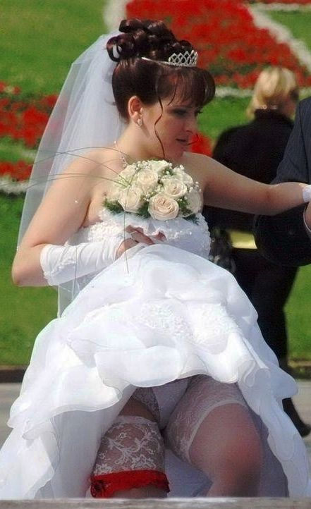 real upskirt and nude bride photos
