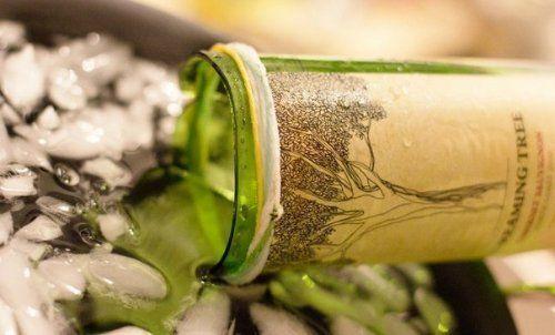 Как разрезать стеклянную бутылку. Мастер-класс | Домохозяйка