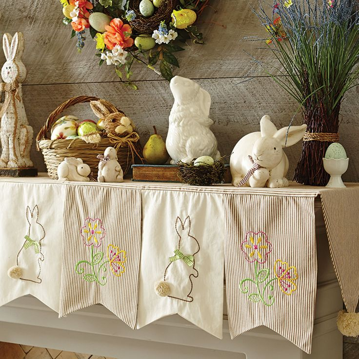17 Best images about Easter – Easter Mantel Decorations