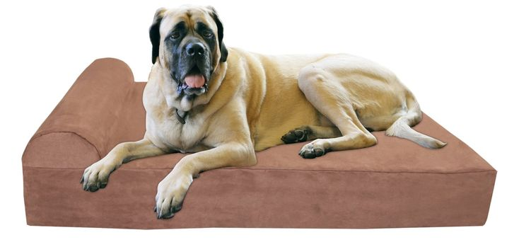 Big Barker 7 Pillow Top Orthopedic Dog Bed for Large and Extra Large Breed Dogs (Headrest Edition) Made in USA