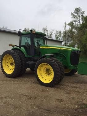 John Deere 8220 Tractor for sale by owner on Heavy Equipment Registry  http://www.heavyequipmentregistry.com/heavy-equipment/15186.htm