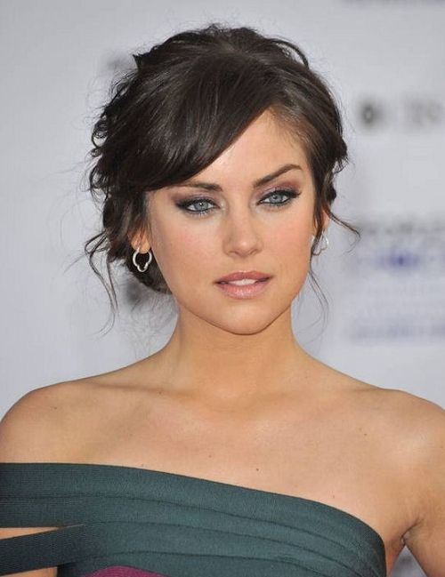 33 Beautiful And Latest Updo Hairstyles with Bangs 2013