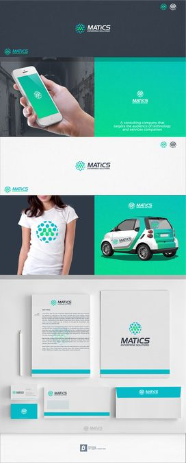 Create a logo for Matics, a Management and Technology consulting firm by Blessing™