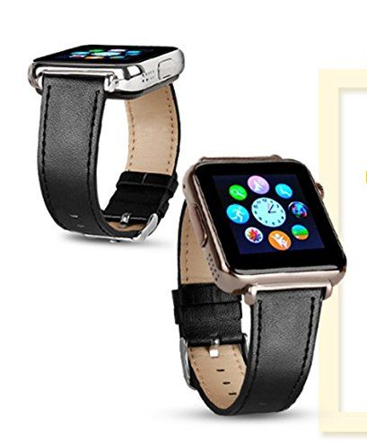 New Y6 Smart Bluetooth Watch Yellow Gold Case with Black ...