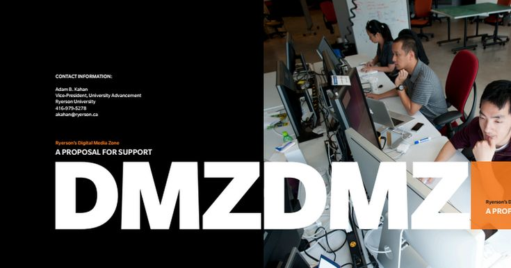 Co-created the content for this DMZ Proposal.