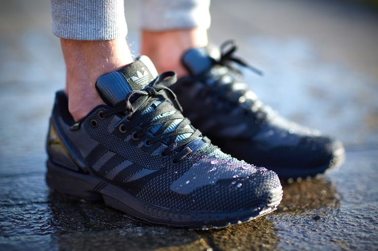 ZX FLUX in the rain by pinterest