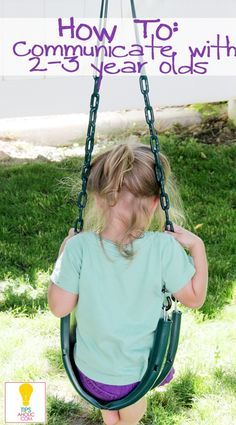 """How to Communicate with your 2-3 year old (especially when they don't listen!) - I actually read through all of these and they are great advice, especially the ones about keeping requests short and simple, rephrasing """"no running"""" into """"let's walk instead of run"""" so that """"No"""" has more impact when you really need it, and using """"when"""" instead of """"if"""" to communicate you expect obedience. Good stuff!"""