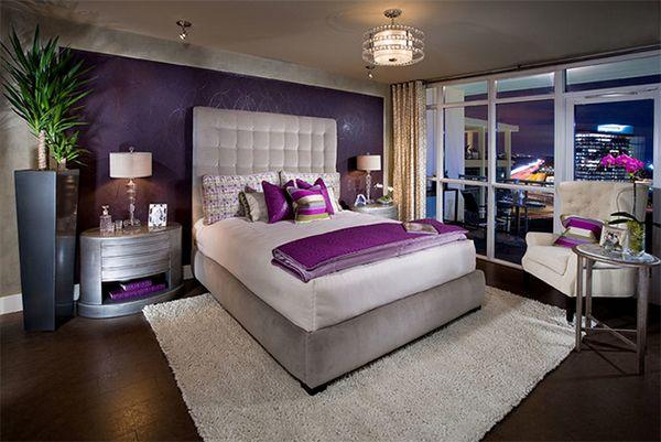 17 Best Ideas About Purple Bedrooms On Pinterest Purple