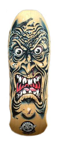 old-school skateboard graphics