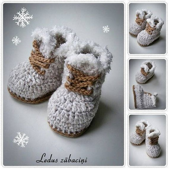 Hey, I found this really awesome Etsy listing at https://www.etsy.com/listing/481654750/crochet-baby-winter-boots-crochet-baby