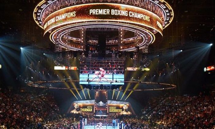 Premier Boxing Champions Reading Eagles Theater PA