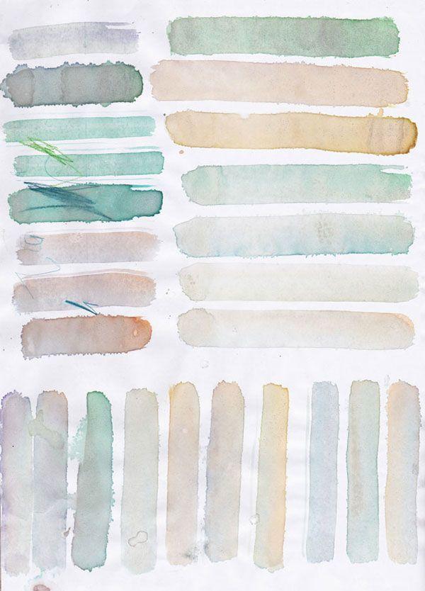 Soft seaside palette via Lanalou style