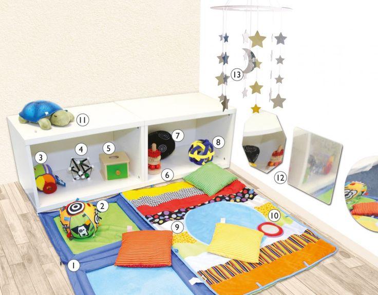 Inspiraci n montessori crear un nido motricidad for Espejo y barra montessori