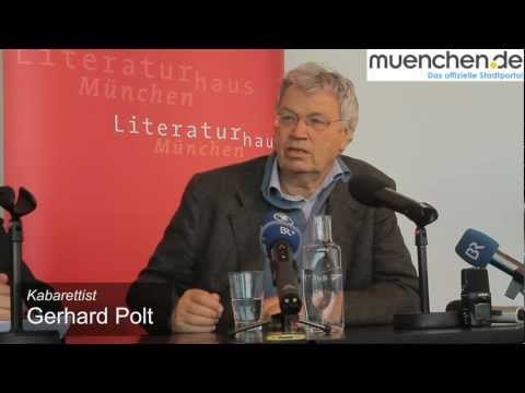 """""""Braucht´s des?"""" - The exposition at the Literaturhaus München honoring 70th birthday of Gerhard Polt. He is known germanwide as cabaret artist."""