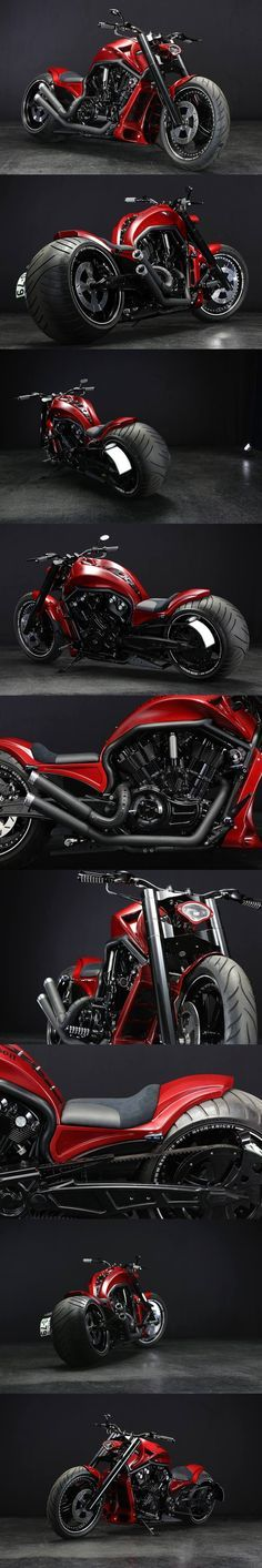 Harley Davidson V-ROD 330 Wide by Bad Land