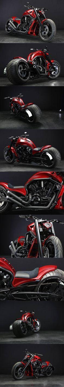 Harley Davidson V-ROD 330 Wide by Bad Land