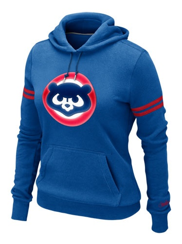 Chicago Cubs Women's Cooperstown Pullover Hoody by Nike (3.19.12)