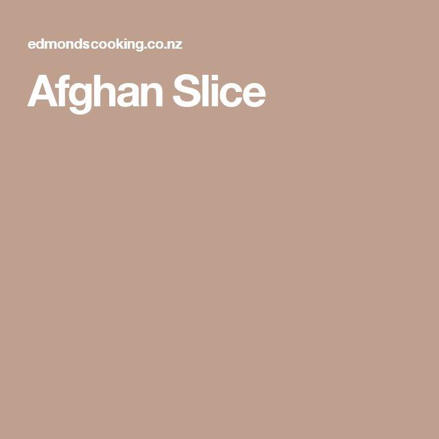 Afghan Slice