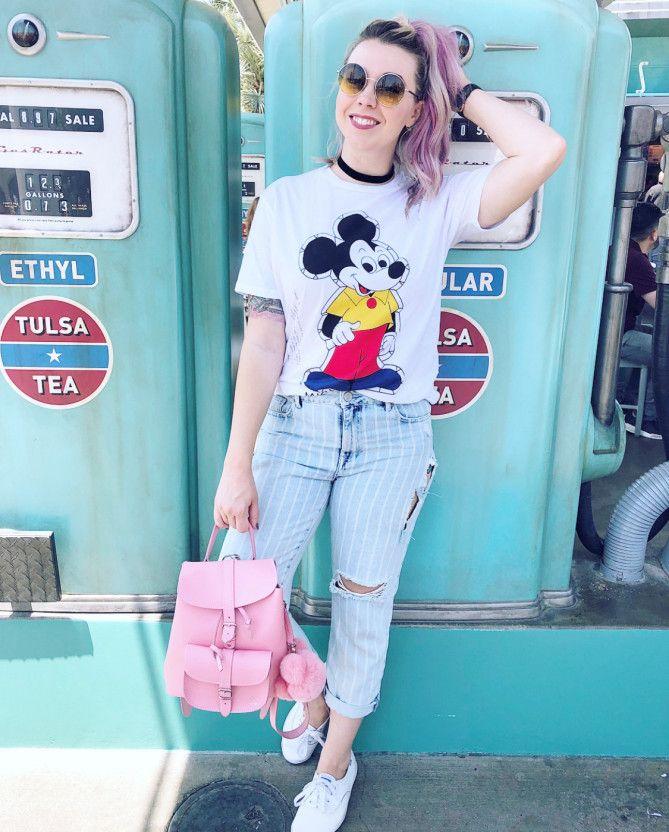 2018 ディズニー夏コーデ25選 おすすめのtシャツ デニムコーデ