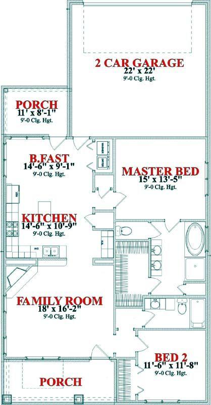 Main Floor Plan: 103-285