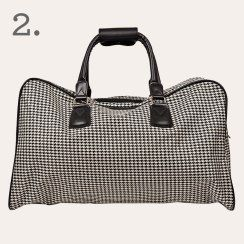Citta Design Houndstooth Travel Bag