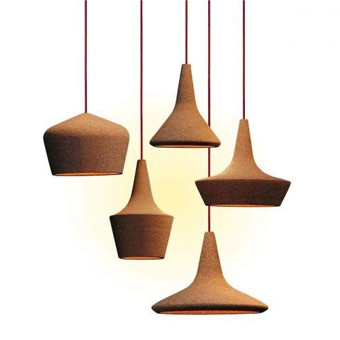 lampade in sughero / Couples / Seletti / Carlo Trevisani