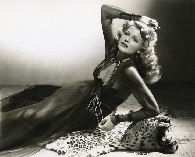 "rantingsofamoderndayglamourgirl: ""Rita Hayworth """