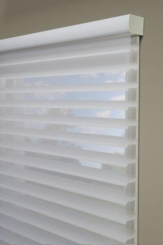 Hunter Douglas Silhouette Window Shadings In An Outside
