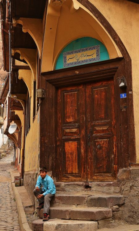 Afyon, Turkey. (the Arabic characters which belongs to Ottoman period.)