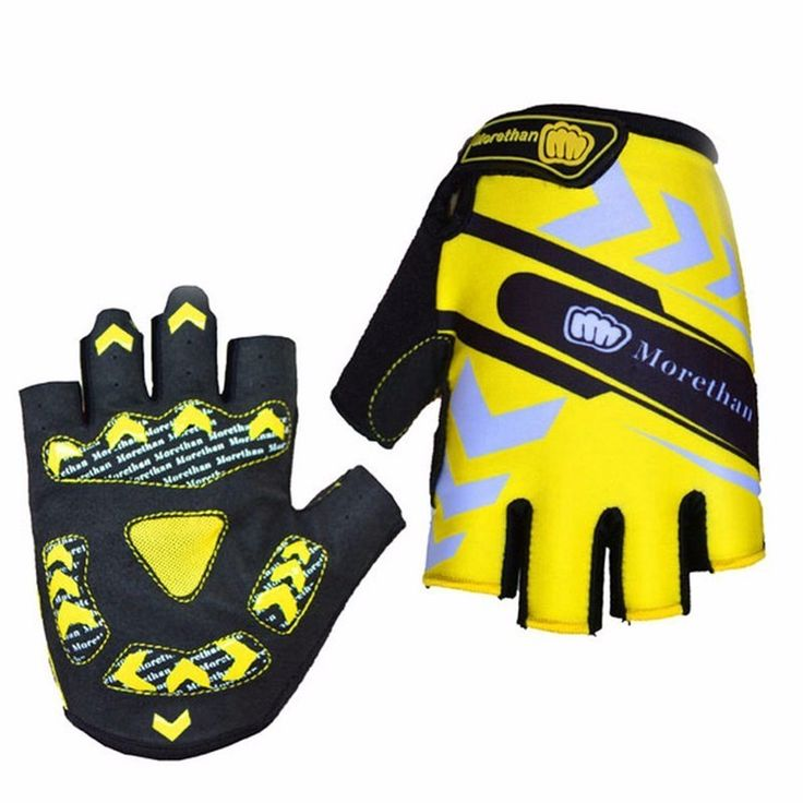 2017 Unisex Cool Style Cycling Gloves Half Finger Non-slip Men M-XL Bicycle Gloves Breathable Motorcycle MTB Road Bike Equipment #Affiliate