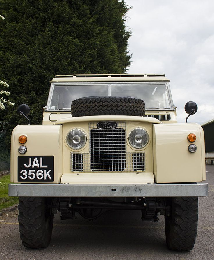 Completely Restored 1968 Land Rover Series IIa LWB In Cars