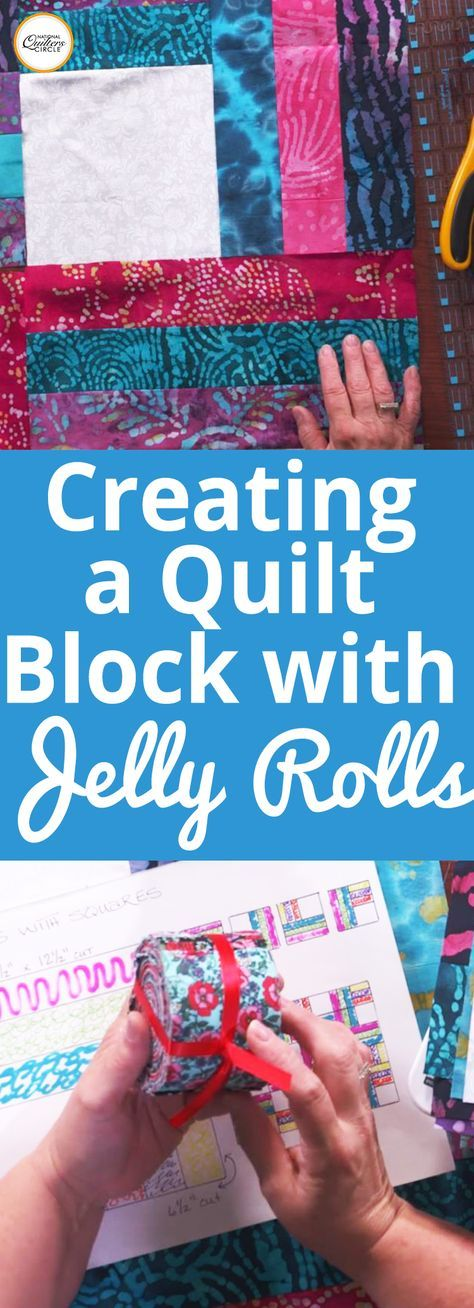 Using precut fabrics can be a great way to save time when cutting out fabric for piecing. Heather Thomas shows you how to incorporate one precut, a jelly roll, into a fun and easy quilt block design that doesn't require any pattern and can be arranged in multiple layouts.
