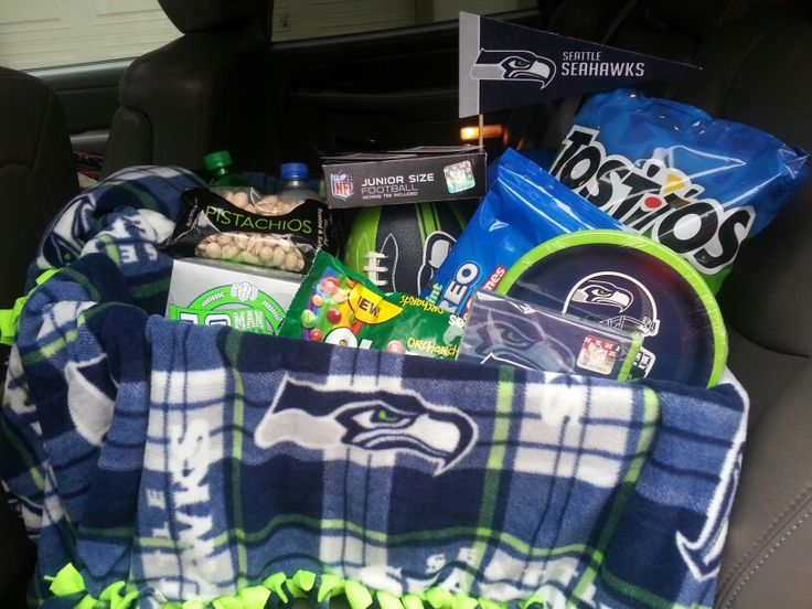 7 best Auction Baskets images on Pinterest | Seattle seahawks ...