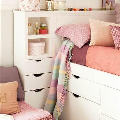 M s de 25 ideas incre bles sobre camas dobles juveniles en for Cama de 54 pulgadas