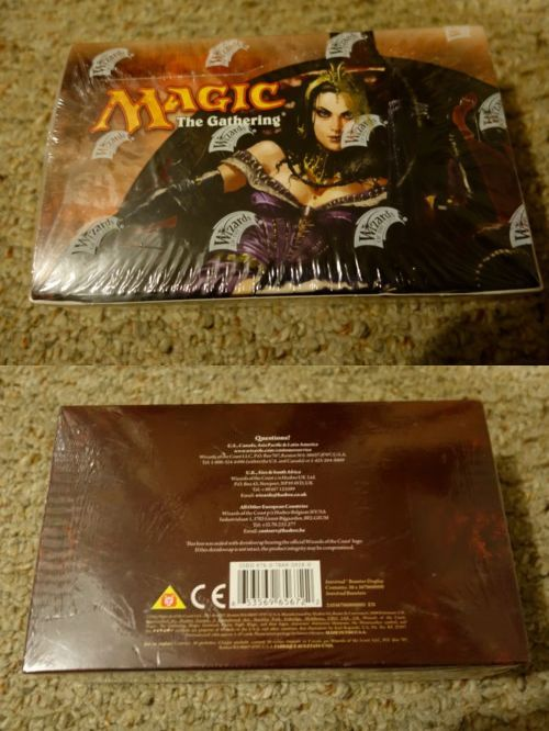MTG Sealed Booster Packs 19109: Innistrad Booster Box Magic The Gathering Mtg New Factory Sealed -> BUY IT NOW ONLY: $299.99 on eBay!