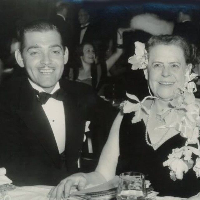 Clark and Marie Dressler out and about.