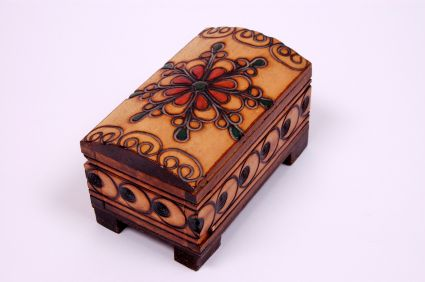 Learn About Polish Culture With These Great Photos: Wooden Boxes From Poland - Poland Folk Art