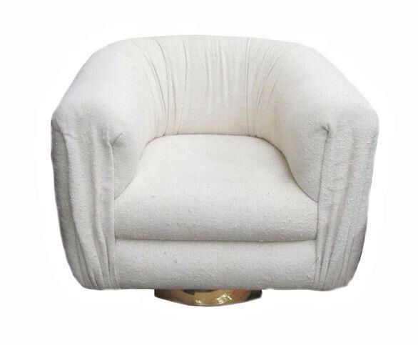 midcentury modern swivel club chair by martin brattrud